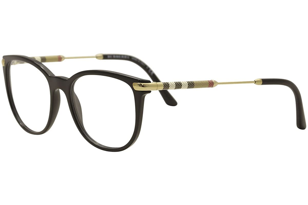 2cdb5696a93e Amazon.com: Burberry Women's BE2255Q Eyeglasses Black 51mm: Clothing