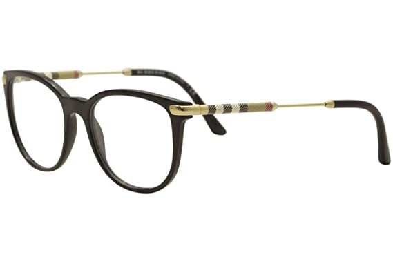 9ea98ff4dcc Amazon.com  Burberry Women s BE2255Q Eyeglasses Black 51mm  Clothing