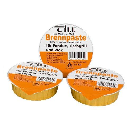 TILL Sicherheits-Brennpaste 3er-Set à 80 g