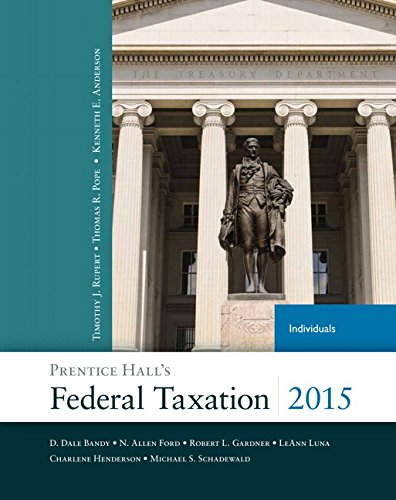 Prentice Hall's Federal Taxation 2015 Individuals Plus NEW MyAccountingLab with Pearson eText -- Access Card Package (28