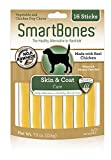 Smart Bone Functional Sticks Skin and Coat Dog Chews, 16 pieces/pack