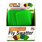 Giant Telescopic Fly Swatter Display - Pack of 24
