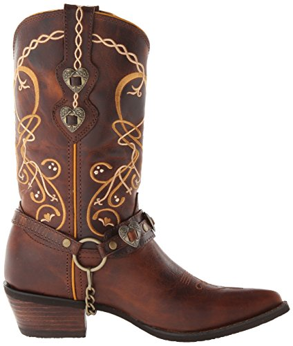 One Western Dcrd180 Boot Brown Size Women's Durango Brown ZTSwZq