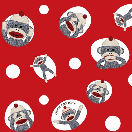 Sock Monkey Party Supplies Wrapping