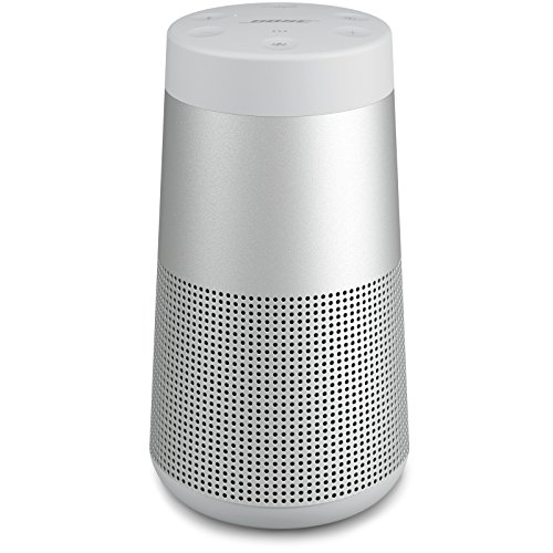 The Bose SoundLink Revolve, the Portable Bluetooth Speaker with 360 Wireless Surround Sound, Lux Gray 1