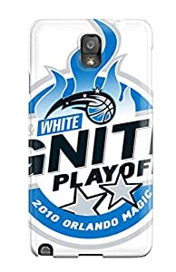 Flexible Tpu Back Case Cover For Galaxy Note 3 - Orlando Magic Nba Basketball (14)