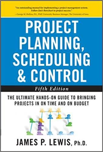 AmazonCom Project Planning Scheduling And Control The Ultimate
