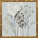 14x14 Sky Dance II by Venter, Tandi: Gold Bamboo 18015