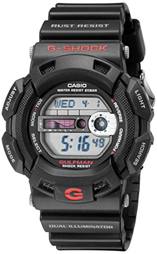 G-Shock G9100-1 Men's Black Resin Sport Watch
