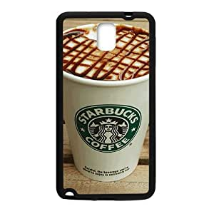 Happy Starbucks design fashion cell phone case for samsung galaxy note3
