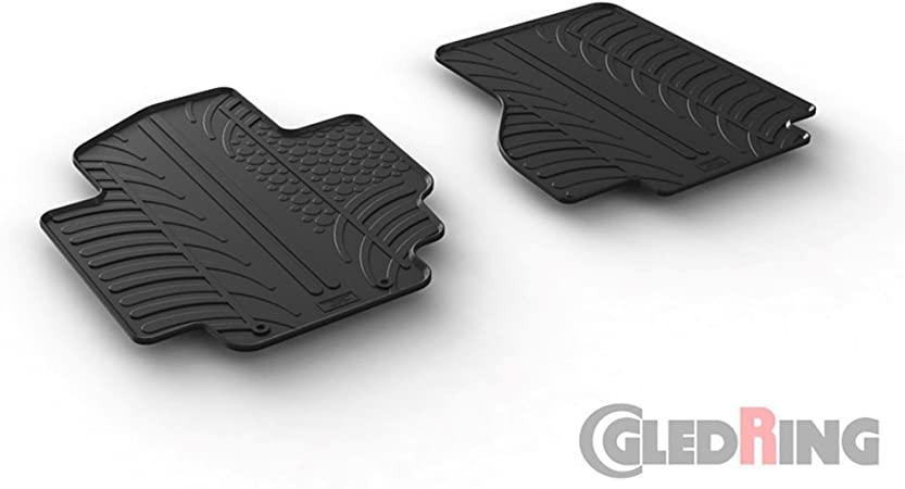 Gledring Satz Gummimatten Nissan E Nv200 Van 2014 T Profil 2 Teilig Montage Clips Auto