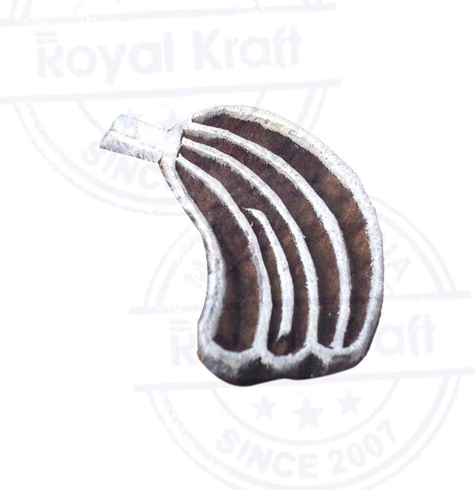 Royal Kraft Erdbeere Holz Obst Drucken Bl/öcke Stempel DIY Henna Stoff Textil Papier Ton Keramik Blocke Druckstempel TLtag001