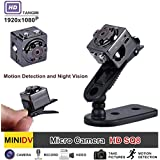 Mini Spy Camera - Hidden Camera - YSBER 1080P Portable HD Covert Body Cam with Night Vision and Motion Detection,Nanny Camera for Home and Office Surveillance