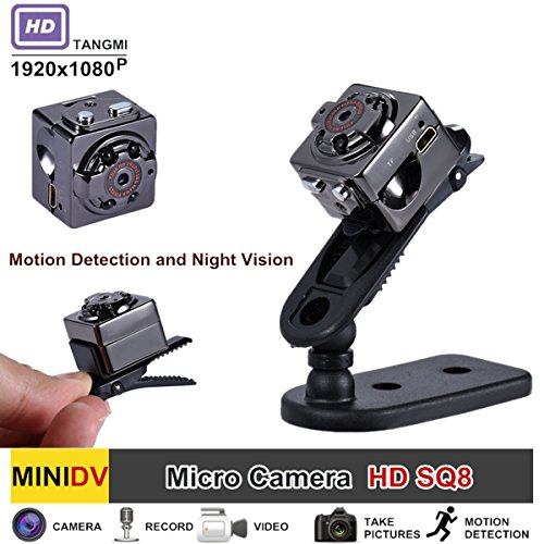 Mini Spy Camera - Hidden Camera - YSBER 1080P Portable HD Covert Body Cam with Night Vision and Motion Detection,Nanny Camera for Home and Office ()