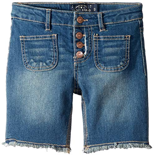 (Lucky Brand Big Girls' Denim Bermuda Shorts, Vera Ada 10)