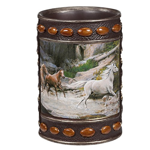 [Creative Bath Products Horse Canyon Tumbler] (Creative Cow Costumes)