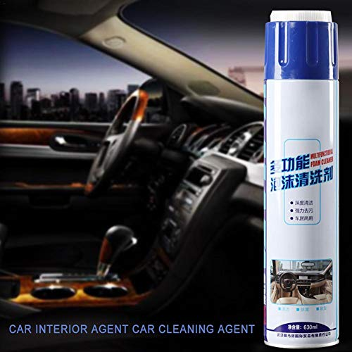 - Gorge-buy Car Interior Foam Cleaner Agent - Leather Fabric Cleaner Home Leather Seat Water-Free Cleaning Agent, New Multi-Functional Car Interior Agent Universal Auto Car Cleaning Agent