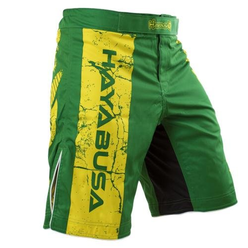Hayabusa Instinct Fight Shorts, 38, Green by Hayabusa