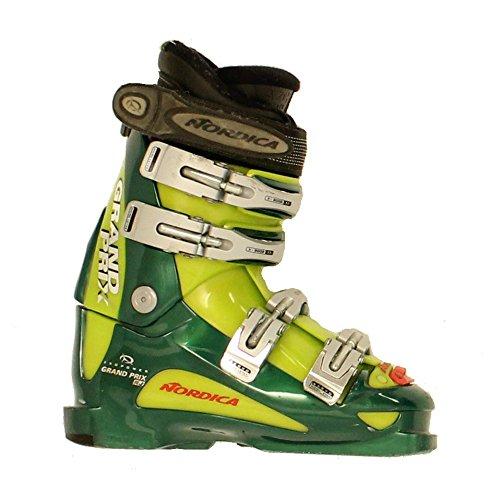 Used Nordica Grand Prix RJ Race Junior Youth Ski Boots - (Ski Race Boot)