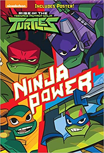 Amazon.com: Ninja Power (Rise of the Teenage Mutant Ninja ...