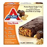 Atkins Day Break Bars, Peanut Better Fudge Crisp, 5 Count