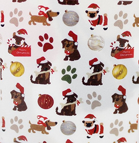Holiday Christmas Pet Dogs - Holiday Time Plush Christmas Puppy Throw, 50 X 60- Inches