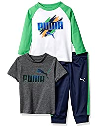 PUMA Boys Toddler Boys Boys' Three Piece T-Shirt and Pant Set