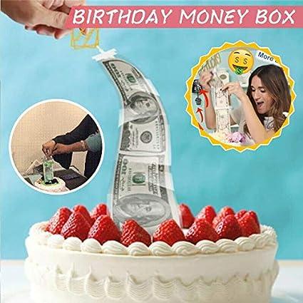 Admirable Happy Birthday Cake Topper Party Decoration Cake Atm Money Box Personalised Birthday Cards Epsylily Jamesorg