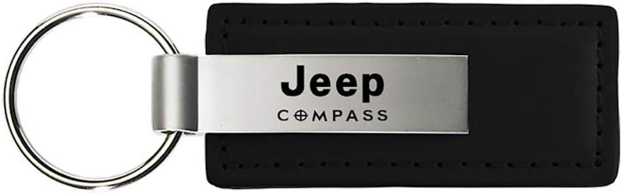 Jeep Compass Clear Crystals Purse Shape Key Chain Au-Tomotive Gold INC
