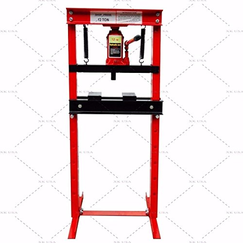 oor H-Frame Press Plates Hydraulic Jack Stand Equipment ()