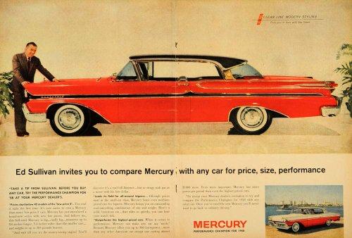 Review 1958 Ad Mercury Ed