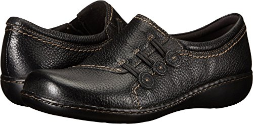 CLARKS Women's Ashland Effie, Black, 6 M US