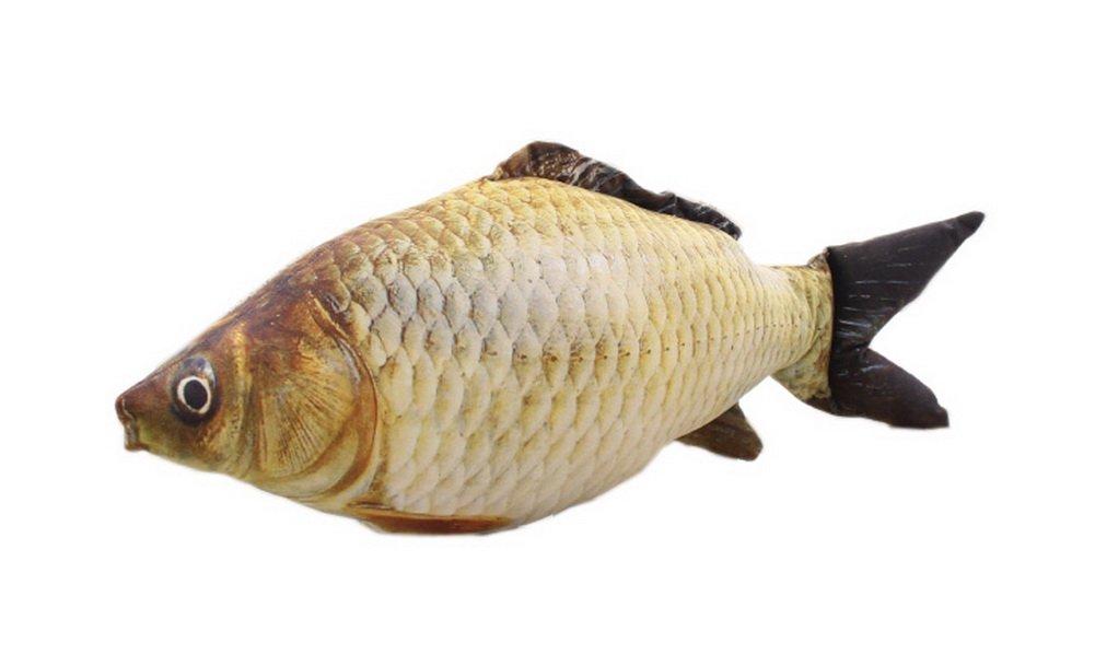 Blancho Lifelike Carp Pillow Simulation Fish Cushion Plush Toy Fish Dolls Birthday Gift Blancho Bedding