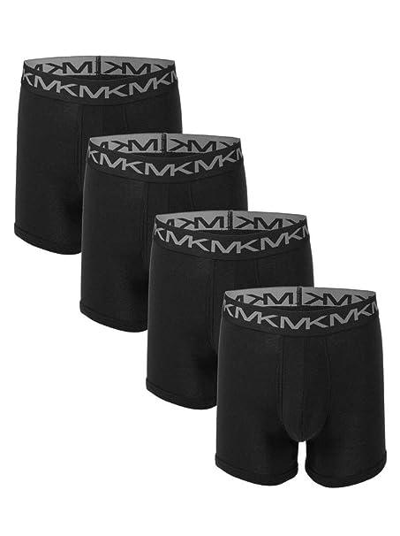 authentic outlet on sale newest Michael Kors Men`s Performance Cotton Boxer Briefs 4 Pack at ...