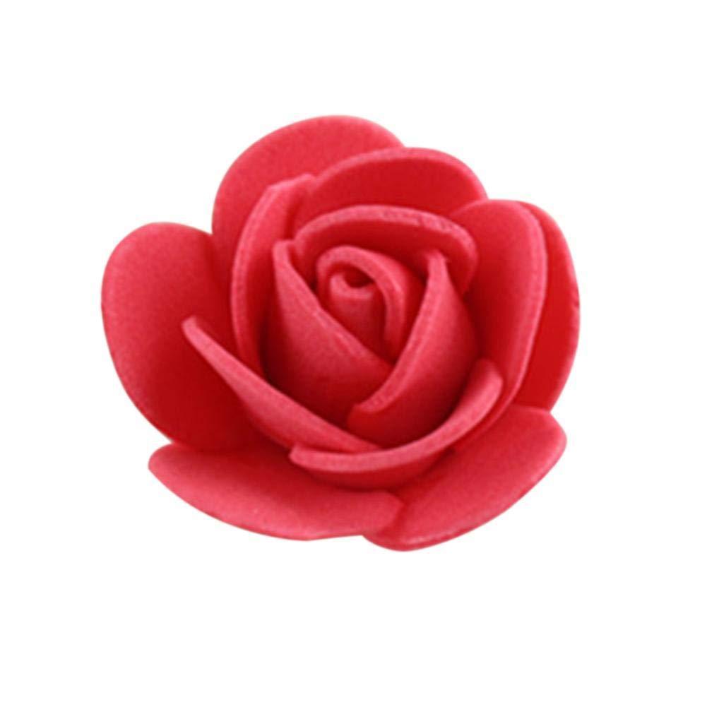 Amazon.com: RoseSummer - Juego de 100 rosas artificiales de ...