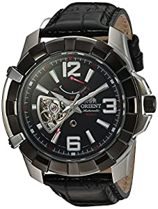 Orient Men's 'Guardian' Japanese Automatic Stainless Steel Casual Watch, Color:Silver-Toned (Model: FFT03004B0)