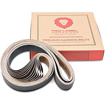 "6/"" x 89/"" Sanding Belt Kit A//O FINE 220 400 600 800 /& 1000 Grit 5 Pack 1 each"