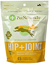 Pet Naturals Hip & Joint for Large Dogs (45 count) pack of 2