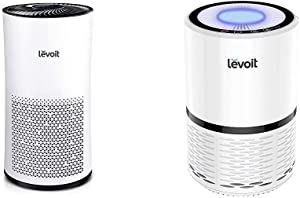 LEVOIT Air Purifier for Home Large Room with H13 True HEPA Filter & H13 True HEPA Filter Air Purifiers for Allergies and Pets, Cleaner for Bedroom, Large Room with Optional Night Light, LV-H132