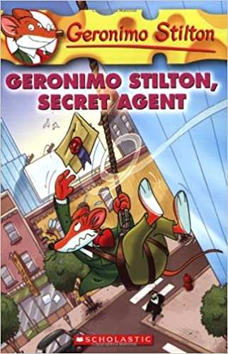 Geronimo Stilton book cover