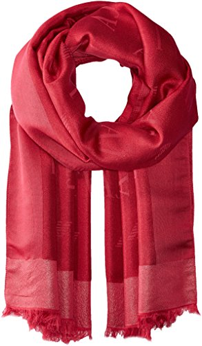 Armani Jeans Women's Solid Woven Scarf