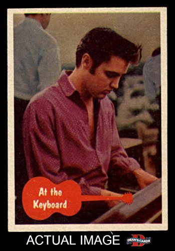 1956 Topps/Bubbles Inc Elvis Presley # 31 At the Keyboard (Card) Dean's Cards 6 - EX/MT 1340353 ()