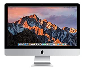 "Apple 27"" iMac, Retina 5K Display, 3.4GHz Intel Core i5 Quad Core, 8GB RAM, 1TB Fusion Drive, Silver, MNE92LL/A (Newest Version)"