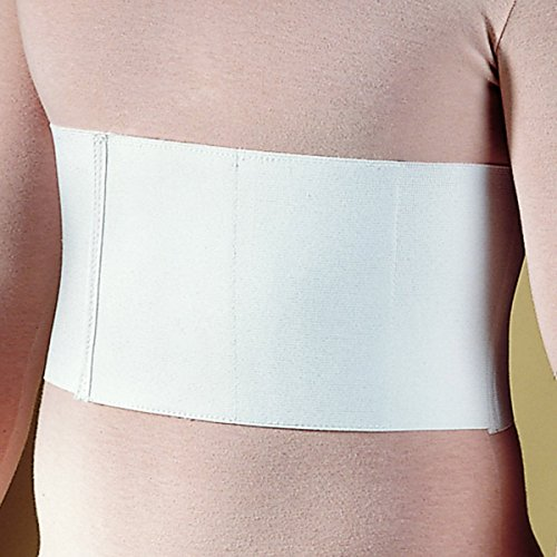 Elastic Rib - Men's Elastic Rib Belt Support Brace Chest Wrap for Cracked, Fractured, Broken Ribs Protection Compression and Support (2X-Large)
