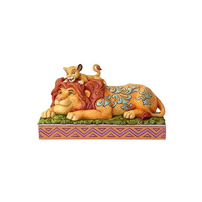 512cUovr5hL Figurina decorativa de la colección Disney Traditions Diseñada por Jim Shore Arte popular inspirado con colores vivos