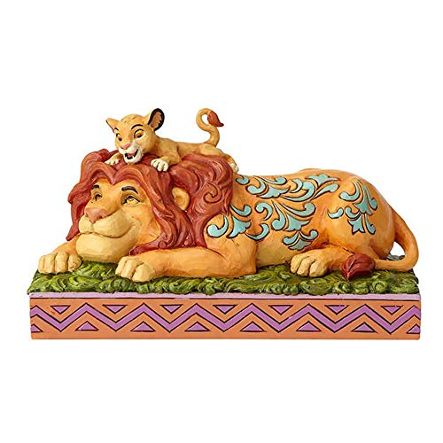 Enesco Disney Traditions by Jim Shore Lion King Simba and Mufasa Father s Pride Figurine, 4.41 , Multicolor