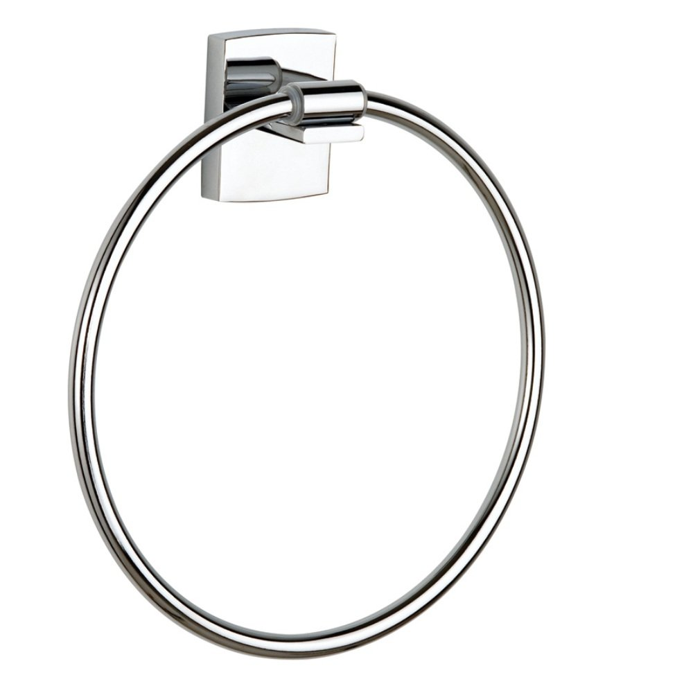Nie Weder Bohren KL207 Klaam Towel Ring Chrome Never Drill Again Attachment Technique tesa