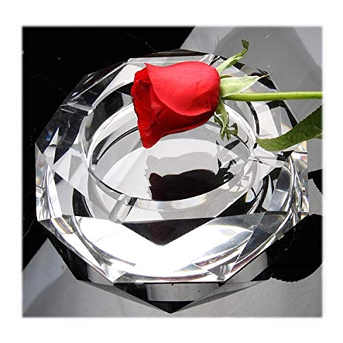 (Ashtray octagonal mirror glass)