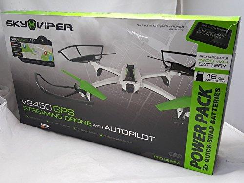 Sky Viper V2450 GPS 720p Streaming Drone W/ Autopilot