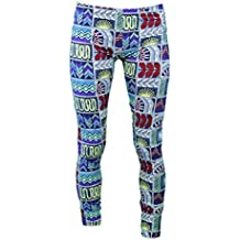 Mara Hoffman Quilts Navy Graphic Resort Wear Leggings